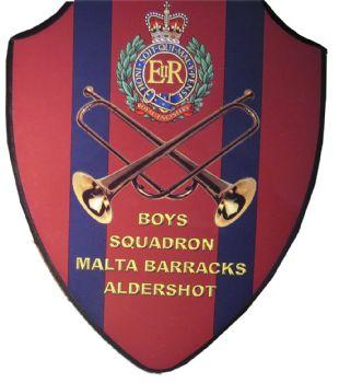 Boys Squadron Malta Barracks - Aldershot Plaque